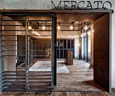 Jean George's Mercato restaurant by NHDRO (Neri & Hu Design & Research Office) Read more: http://www.indesignlive.asia/articles/projects/Mercato##ixzz27e1FADB1