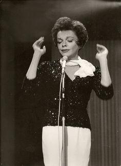 Judy Garland at the London Palladium, 1963.