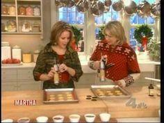 Martha Stewart - Baking Butter Cookies with Renée Fleming