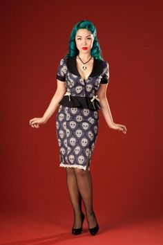 Poison Candy Fashion -- more at --> http://pinup-fashion.de/157/poison-candy-fashion/