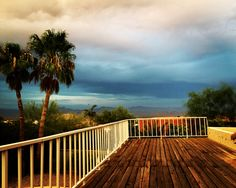 Pre sunset cloudy monsoon skies! #Arizona #home #monsoon #sunset