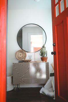 Home Decor – Entryway :     boho entryway, bohemian room, midcentury eclectic    -Read More –