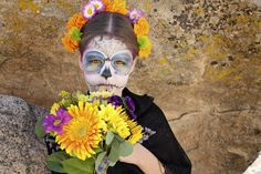 A beautiful post & recipe on Day of the Dead by  Muy Bueno Cookbook.
