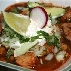 """Slow Cooker Posole 
