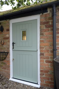 Want to find out about build your own shed plans? Then this is definitely the right place! Barn Renovation, Cottage Renovation, Half Doors, Windows And Doors, Corner Sheds, Cottage Front Doors, Shed Doors, Composite Door, External Doors