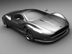 2008 Sabino Design Aston Martin AMV10 Concept