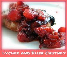 lychee-plum-chutney