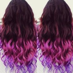 I like this but would not do it to my own hair.