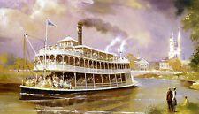 Vintage Disneyland - Ferry 1971  poster