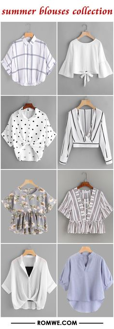 summer blouses collection
