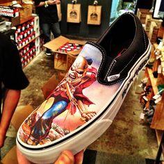 Iron Maiden vans!!!!