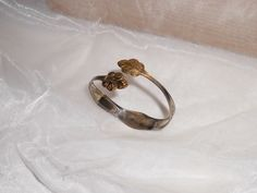 Nostalgischer Silberbesteck Armreif  Besteck AB186 von Atelier Regina auf DaWanda.com