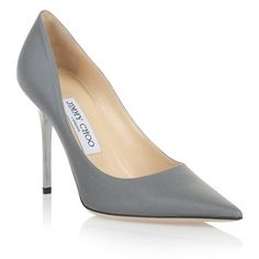 Jimmy Choo Abel silver holographic pump