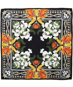 Givenchy silk scarf at Liberty