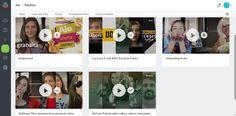 organização em playlists youtube corporativo