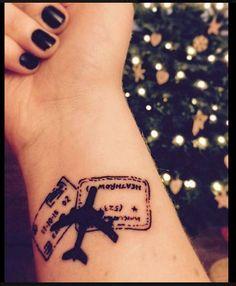 viagem tattoo #TattooIdeasFirst