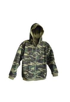 Camouflage Woodland Zip Hoody | Buy Now at camouflage.ca