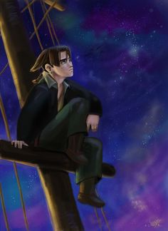 Jim Hawkins - Treasure planet by DreamyArtistRoxy3.deviantart.com