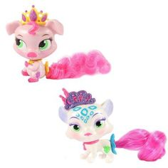 Disney Palace Pets Whisker Haven Tales Furry Tail Friends, 2-Pack, Piglet/Snow Leopard