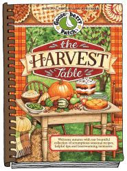 Brand new for 2012...The Harvest Table Cookbook is on sale now. Keep an eye on this board for lots of recipes sampled by our favorite bloggers!