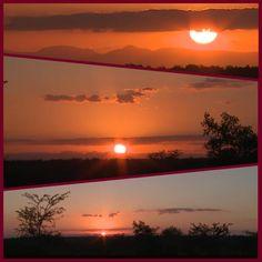 Sunset in Djuma Reserve