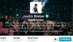 Justin Bieber Becomes King of Twitter Overtake Lady Gaga!     Now he has over 40 million followers.  I'm crying I I say this cuz he started off with 3
