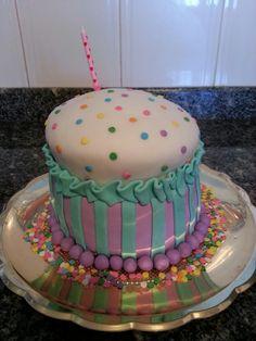 Cupcake Gigante hecho sin el molde especial para ello :-)