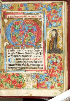 Book of Hours, MS S.4 fol. 173r - Images from Medieval and Renaissance Manuscripts - The Morgan Library & Museum