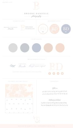 Brand board / branding / brand design / custom logo / photographer brand / photographer logo / color palette / logo design