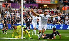 Swansea 1-0 Everton: Fernando Llorente strikes to earn win