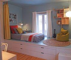 36 Elegant Small Kids Room Design Ideas With Smart Saving Space Small Room Design Bedroom, Room Ideas Bedroom, Home Room Design, Kids Room Design, Home Decor Bedroom, Bed Design, Small Room Interior, Study Room Decor, Small House Design