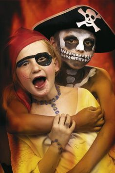 Pirate makeup | Savannah\'s Beach: Tybee Island | Pinterest ...