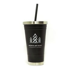 Just like our Stainless Can, but with a straw!  US: $17.00