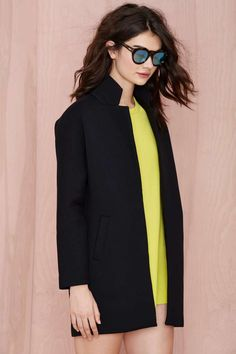 Finders Keepers Stand Still Scuba Coat - Coats | Finders Keepers | Finders Keepers