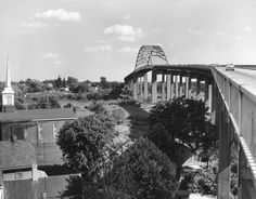 1964.  St. George's Bridge in New Castle, Delaware.  1306-000-000 #2638.  From the DeDO collection at the Delaware Public Archives.  www.archives.delaware.gov