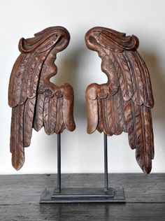 Antique French Angel Wings