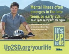 Mental illness often emerges in the late teens or early 20s. Read up to recognize the signs.