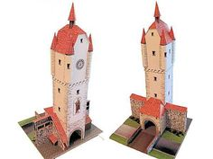 Ehemalige Peterstor in Wangen Free Building Paper Model Download  r   This building paper model is the Ehemalige Peterstor (Leutkircher Tor) in Wangen, created by Ausschneide Bogen. There are 1:45, 1:87 (H0) and 1:160 (N Scale) three scale versions. It is perfect for Dioramas, RPG and Wargames.