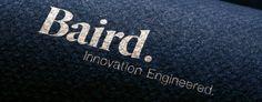The #logo we designed for Baird, a Canadian coastal engineering firm. #logo #logodesign #identity #brand #branding #graphicdesign #Icon #symbol #mark #corporateidentitymiami