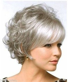 Beautiful-Women-Curly-Hair-Short-Wig-Gray-Cosplay-Women-Full-Wigs