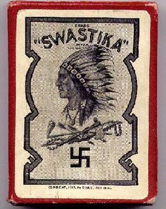 "Obviosly made before 1945 <~previous pinner...The Native Americans Called it a ""Whirling Log"" (I do beleive) Hitler called it a ""Swastika""...What do you guys say?"