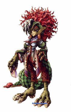 outsideover: Legend of Mana character design appreciation - Part 3!Art by Shinichi Kameoka and Koji Tsuda