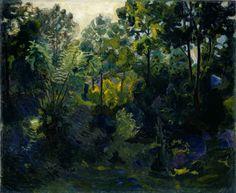 thorvald erichsen(1868-193), wooded landscape, 1900. oil on canvas, 81 x 98 cm. nasjonalmuseet for kunst, arkitektur og design, norway