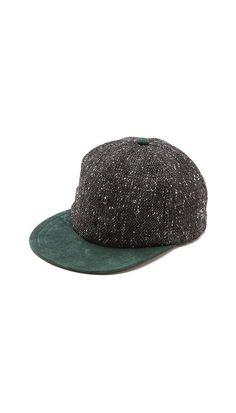 Tweed baseball cap - men's fashion and menswear style