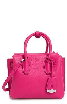 MCM MCM  Mini Milla  Leather Tote available at  Nordstrom Tote Handbags da729de6ddb90