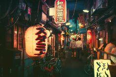 A mágica noite de Tóquio – bluw