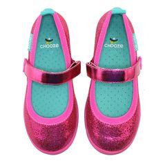 Chooze: Jump Glow Mary Jane Little Kid/Big Kid (Fuchsia) Girls Dress Shoes, Baby Boots, Funky Fashion, Big Kids, Cotton Canvas, Mary Janes, Purple, Glow, Sneakers