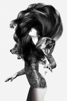 Bear #3  by Jenny Liz Rome