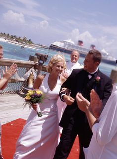 Disney cruises offer fairytale wedding opportunities in gorgeous settings!