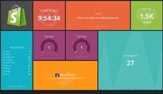 Dashing - An exceptionally handsome dashboard framework
